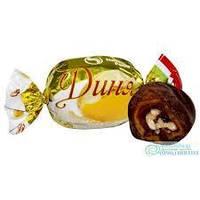 Конфеты Дыня+грецкий орех в шоколаде 1000 г в коробке