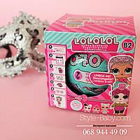 Кукла LOL,7,5см, шар10см, наклейки,аксессуары, микс видов, в кор-ке, 9,5-9,5-9,5см
