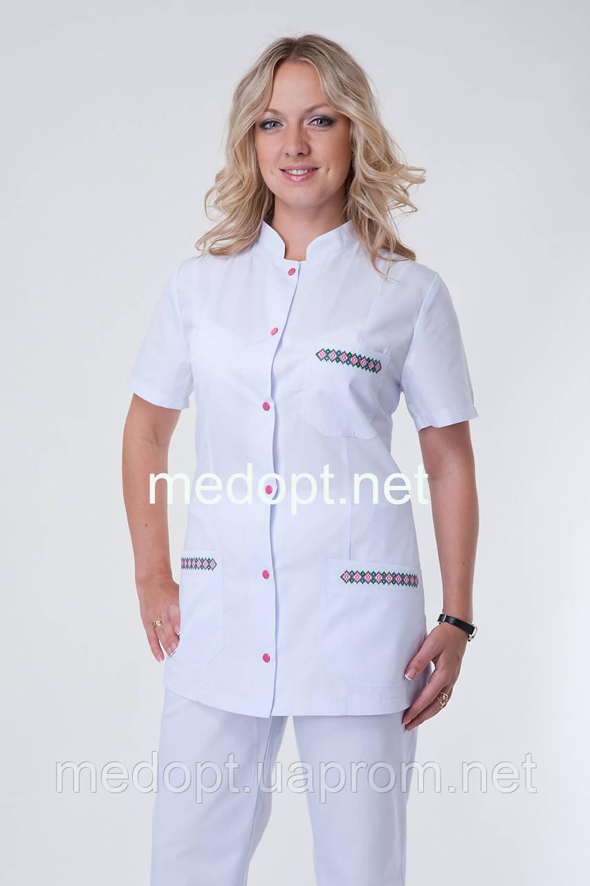 28ccfa91ca8 Медицинский костюм женский хлопок (батист) 2253 - Медопт в Хмельницком