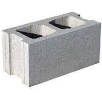Шлакоблок (стеновой бетонный блок) 39,5х19х19