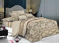 Двуспальный комплект постельного белья с компаньоном 1701