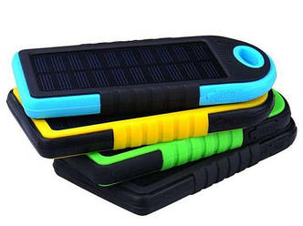Повербанк Power Bank Solar 6000 mah 2 USB