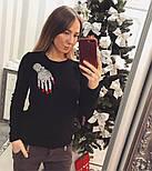 """Женский стильный свитер/джемпер с украшением """"Рука"""" (3 цвета), фото 3"""