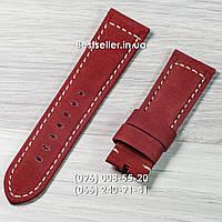 Ремінець до годинників OFFICINE PANERAI Red., фото 1