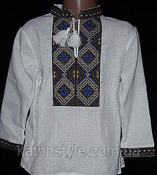 Рубашка для мальчиков с вышивкой