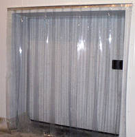 Терошторы хладостойкие (ребристые) проем 1 х 2 м.