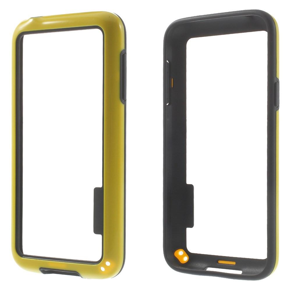 Чехол бампер TPU для Samsung Galaxy S5 mini G800 желтый