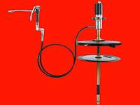 Groz 45411 GP2/ST/501/BSP пневматический насос для выдавливания солидола (любой смазки) из бочек 50-60кг