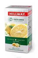 """Чай """"Hillway"""" черный с лимоном, 25 ф/п в сашетах"""