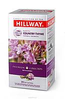 """Чай """"Hillway"""" черный с чабрецом, 25 ф/п в сашетах"""