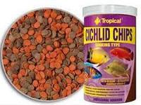 Tropical Cichlid Chips 1л - корм для кормления аквариумных рыб (60926)