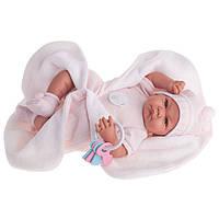 Кукла младенец NICO MANTA 40 см с одеяльцем и погремушкой Antonio Juan AJ3362
