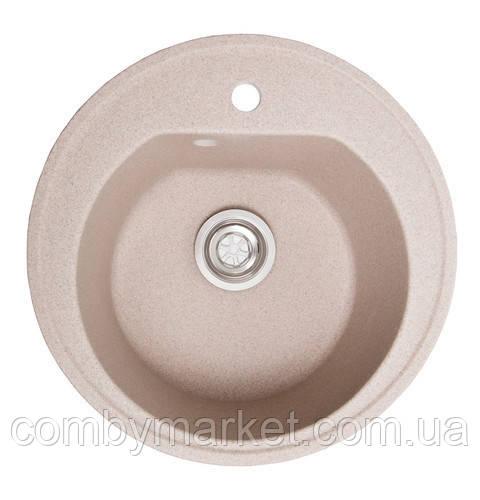 Кухонная мойка Галац KLASICKY BEZHVY (401), 51х51х19,2 см