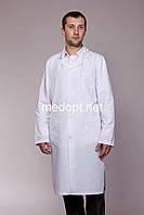 Белый халат медицинский(коттон) 3106