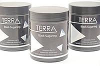 Черная сахарная паста TERRA Black Soft  №2 ( мягкая) 700 г