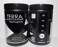 Черная сахарная паста TERRA Black Soft  №2 ( мягкая)  1,4 кг