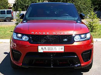 Тюнинг обвес Range Rover Sport стиль SVR