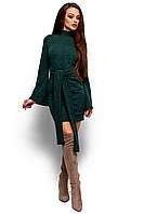 Эффектное Платье Диор из теплого зимнего трикотажа 42-48р