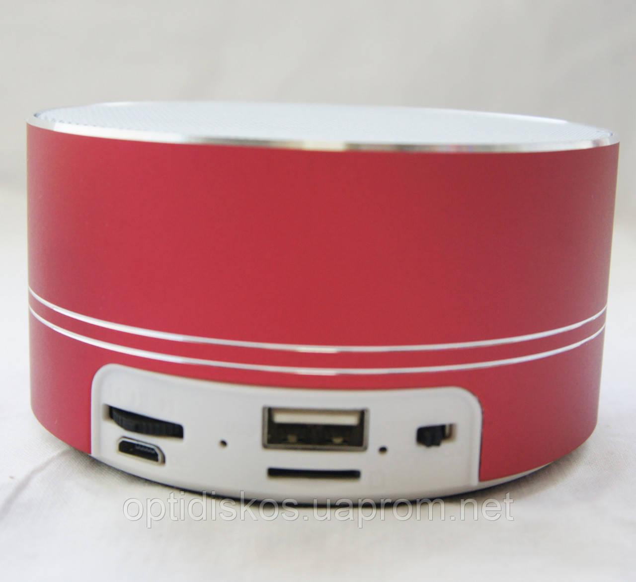 Bluetooth портативная колонка (USB, micro-SD), BO-A11, красная
