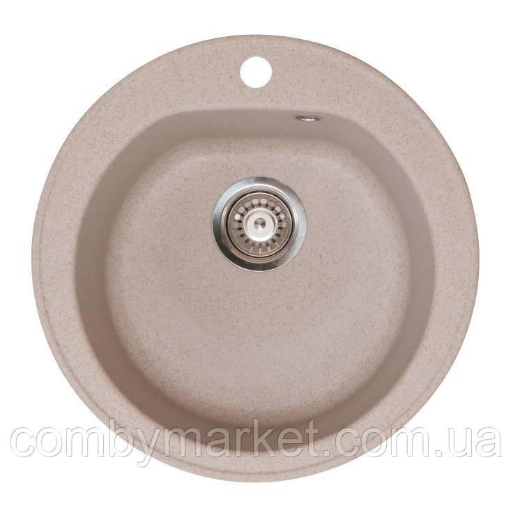 Кухонная мойка Галац KLASICKY PIESOK (301), 51х51х19,2 см
