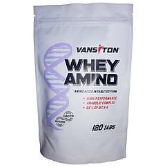 Аминокислоты Whey Amino (120 табл.) Vansiton