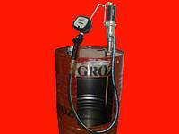 Пневматический бочковой насос с расходомером Groz 45309