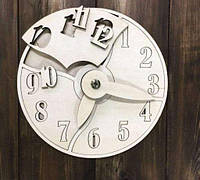 Часы деревянные, конструктор