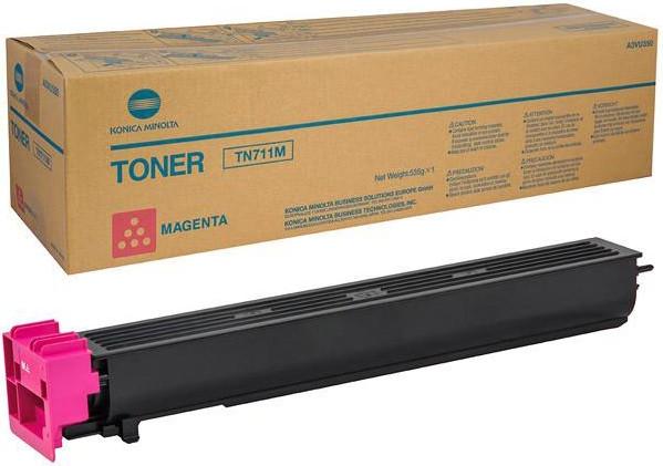 TN 711 M Тонер Magenta, [С654/С754], ресурс 31500 при 5% заполн.