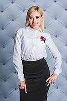 Стильная деловая женская рубашка