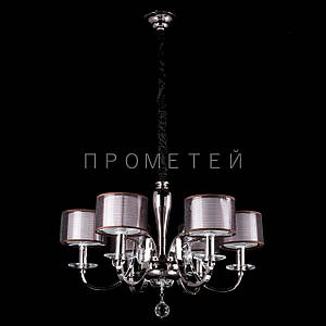 Классическая люстра с абажурами и элементами хрусталя. P13-16100/6