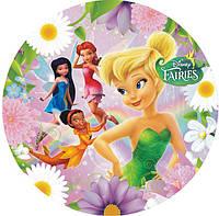 """Детские одноразовые бумажные тарелки """"Fairies"""""""