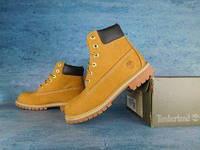 Ботинки Timberland (Тимберленд) с термо-подкладка (КОРИЧНЕВЫЕ) ТОП качество