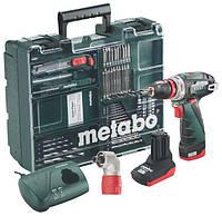 Аккумуляторный шуруповерт Metabo PowerMaxx BS Quick Pro Mobile Workshop