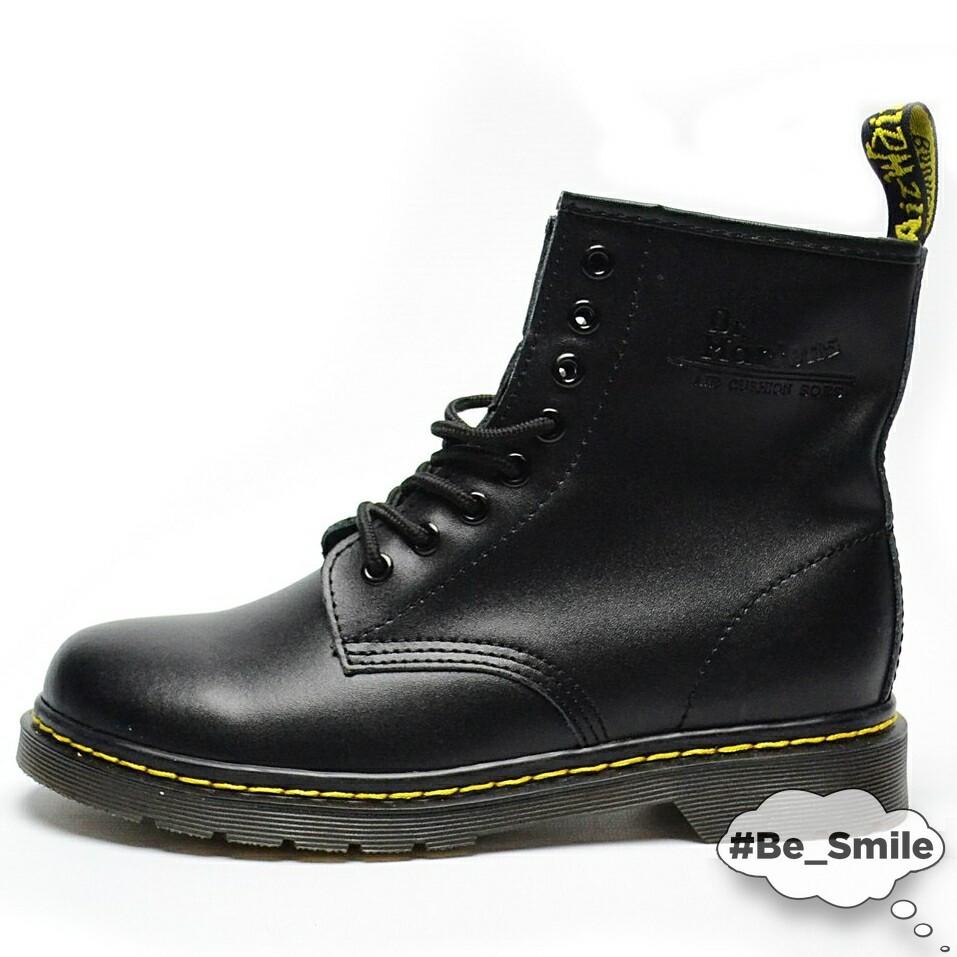 Ботинки мужские Dr. Martens Boots (черные) Top replic