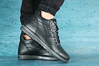 Ботинки зимние мужские Clarks черные 10441