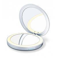 Косметическое зеркало с подсветкой и внешним аккумулятором Beurer BS 39