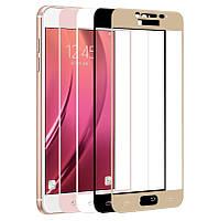 Защитное стекло с рамкой для Samsung Galaxy C5