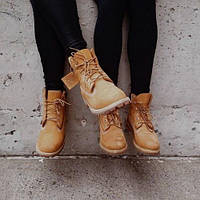 Ботинки Timberland (Тимберленд) с термо-подкладка (КОРИЧНЕВЫЕ) ТОП качество, фото 1