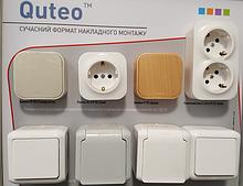 Quteo Legrand (forix) вимикачі накладного монтажу