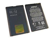 Аккумуляторная батарея (АКБ) для Nokia BL-5J, 1320 мАч