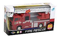 Пожарная машина инерционная Big Motors, фото 1