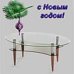 Оригинальный и практичный подарок к Новому году: стеклянная мебель от отечественного производителя!