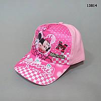 Кепка Minnie Mouse для девочки. 50-52 см, фото 1