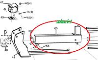 Рабочий колун дровокола AL-KO KHS 5200 L