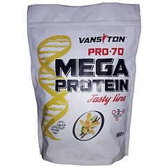 Протеины  Mega Protein Pro-70 (900 г) Vansiton