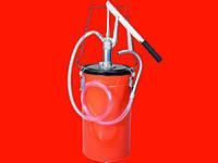 Groz 44180 маслонагнетатель ручной с баком 12л