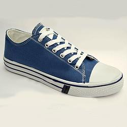 Кеды мужские низкие Yong Zone синие blue 44
