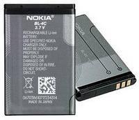 Аккумуляторная батарея (АКБ) для Nokia BL-4C, 890 мАч