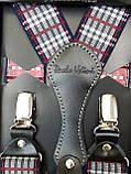 Мужские подтяжки для брюк разноцветные, гламурные, фото 2