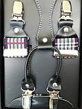 Мужские подтяжки для брюк разноцветные, гламурные, фото 3